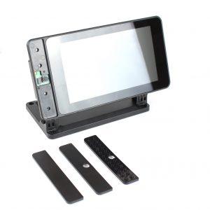 SmartiPi Touch 2 樹莓派官方 7 吋觸控螢幕專用外殼 支援樹莓派 4 代 集成的攝像頭支架
