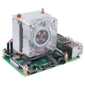 樹莓派 4 代極致冷卻系統 Blink Blink ICE 塔式 CPU 冷卻風扇 超頻必備散熱機制