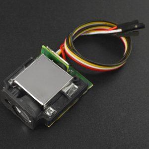 高精度遠距雷射測距模組 室內(80M) 室外(50M)  輸出,兼容Arduino等多種控制板