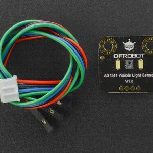 Gravity: AS7341 可見光譜分析感測器模組 11 通道 8波長可見光 光譜分析