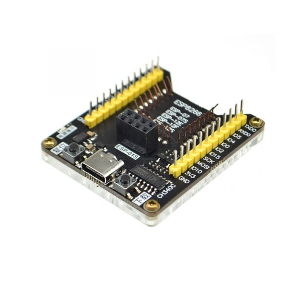 ESP8266 全功能燒錄器 一鍵下載 支持 ESP-01S ESP-12F 12E 12S 07S 送 USB 線