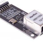 LAN8720 ETH Board 乙太網路擴展模組  Ethernet 收發器(PHY)採用RMII接口
