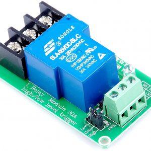 1通道 5V/ 30A大電流光耦隔離繼電器 (交流直流雙用)  5V 供電