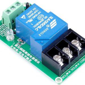 1通道 12V/ 30A大電流光耦隔離繼電器 (交流直流雙用)  12V 供電