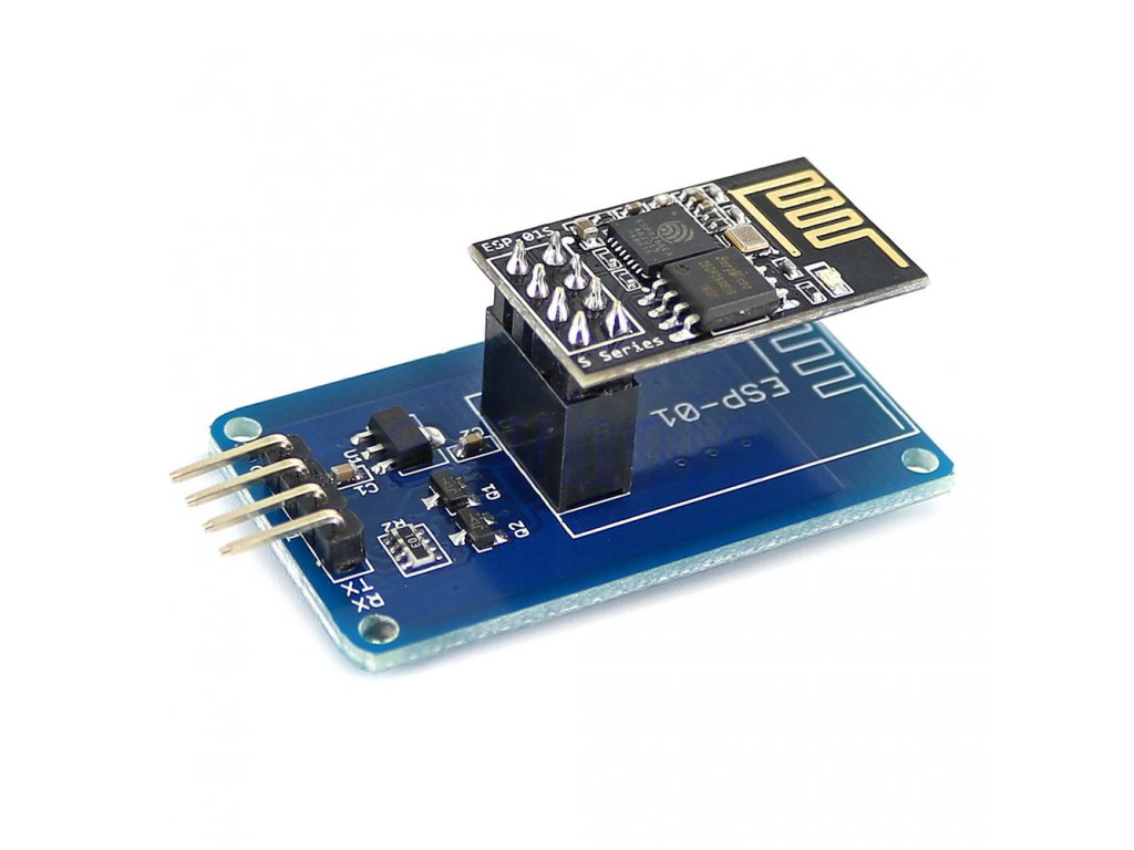 How to connect an ESP8266 using an ESP-01 adapter to an Arduino Uno? -  Arduino Stack Exchange