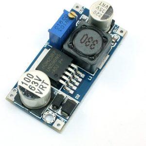 LM2596HV  輸入4.5-60v  降 3-35V 可調降壓穩壓模組 48V 可輕鬆駕馭