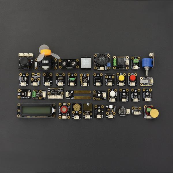 Arduino Gravity: 37件感測器學習套件組