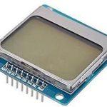 Nokia 5110 LCD 液晶螢幕模組  Arduino 適用 已焊排針