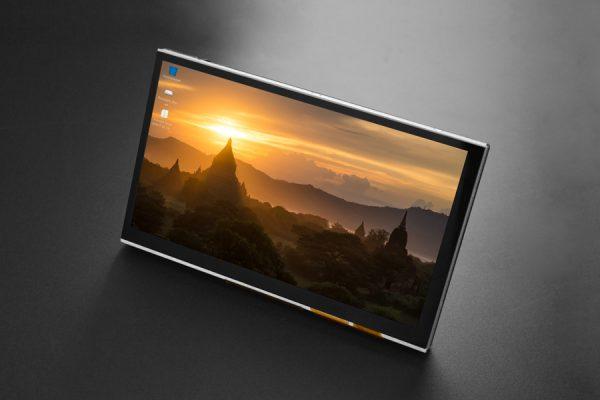 樹莓派 7寸 TFT 觸控螢幕   DSI顯示屏接口 電容式觸摸屏,支持5個觸摸點