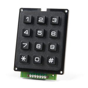 SparkFun Qwiic Keypad - 12 Button 按鍵模組  鍵盤模組  IIC 通訊