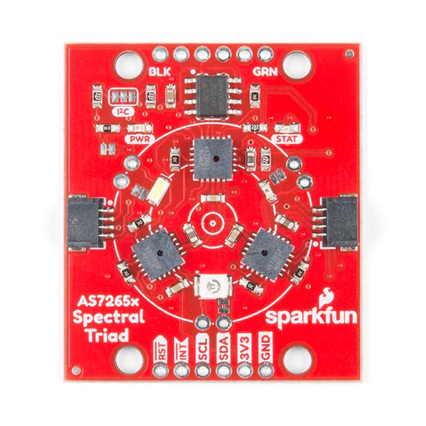 SparkFun Triad Spectroscopy Sensor - AS7265x (Qwiic) 三合一光譜傳感器