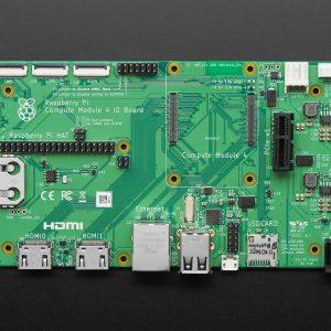 Raspberry Pi Compute Module 4 I/O Board 樹莓派運算模組擴展板  CM4 計算模組I/O底板