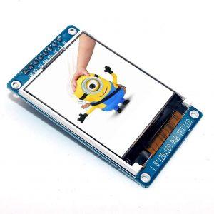 1.8 英寸全彩 128x160 SPI 全彩 TFT LCD 顯示模組 驅動 IC ST7735S