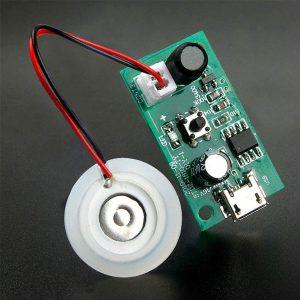 USB 5V 超聲波霧化器模組 線路板霧化片集成電路板 霧化器模組 霧化加濕模組