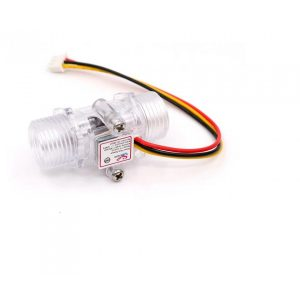 YF-201C 透明水流量傳感器 透明流量計 渦輪流量計  4分流量傳感器