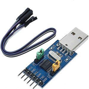 CH341T 多功能模組 USB 轉 IIC UART USB 轉 TTL 模組 3V 5V 可切換